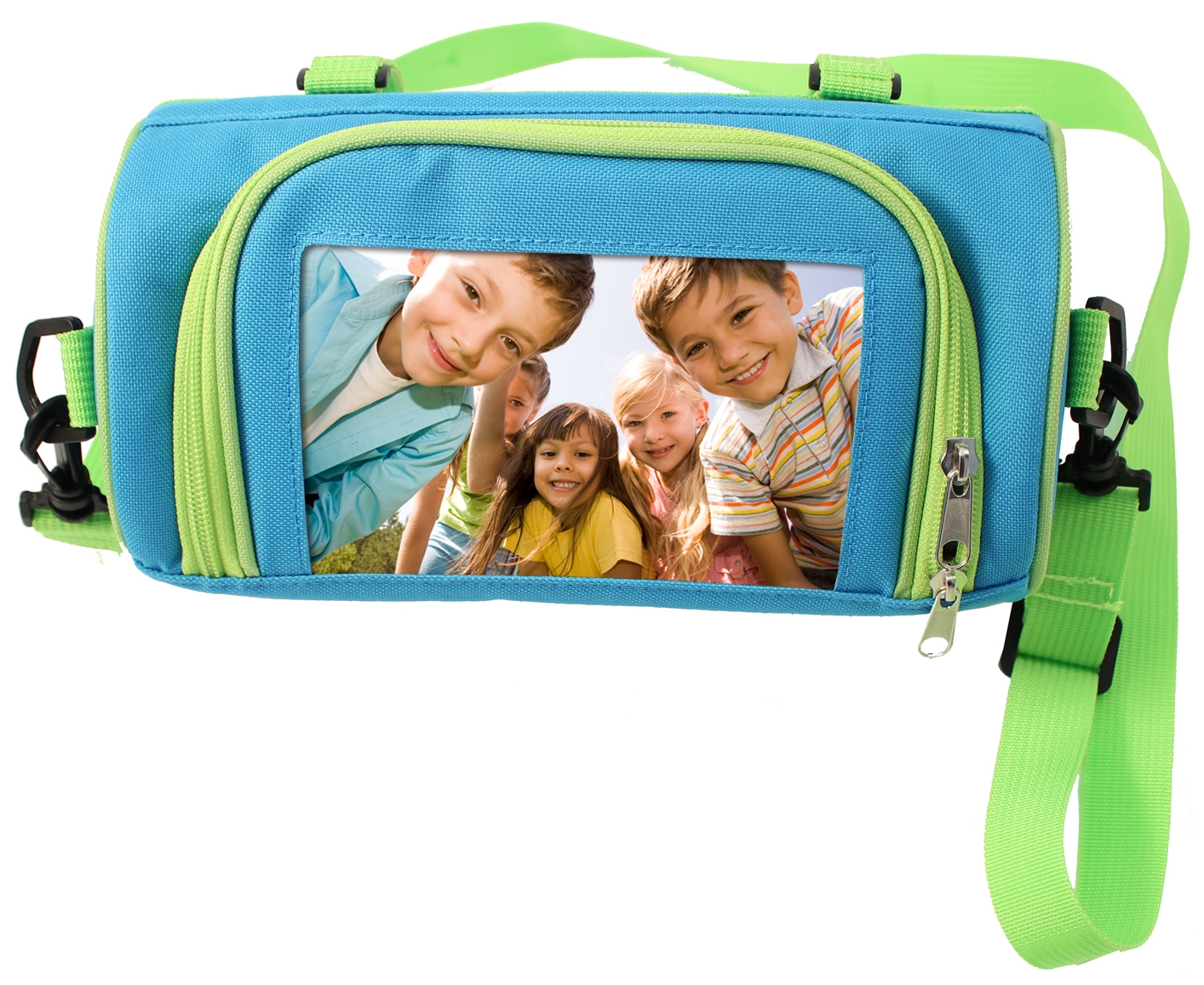 Insulated Lunch Box - Blue