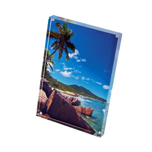 Acrylic Block Picture Frame | Cruise Ship Souvenirs