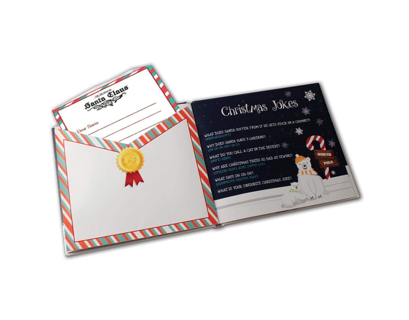 Festive Photo & Activity Book - Santa Sledge Dash