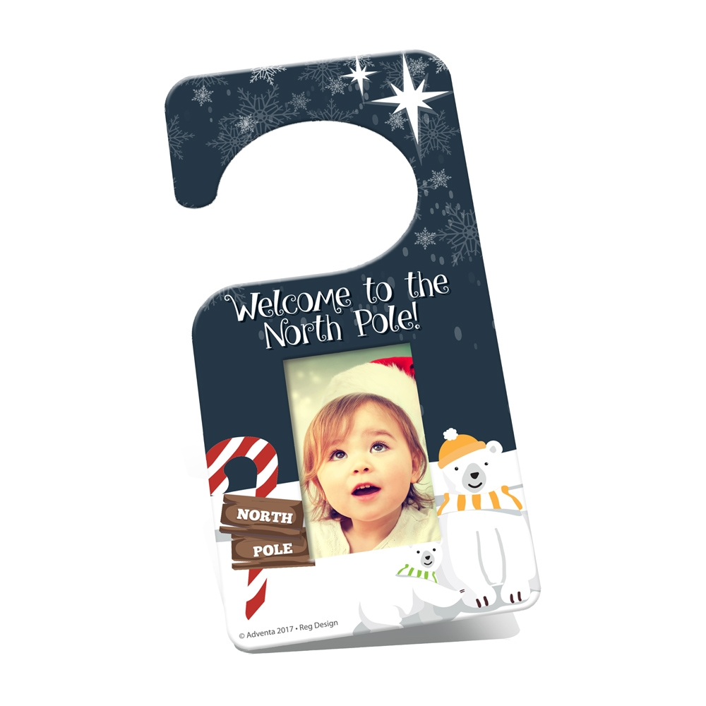 Adventa Christmas Door Hanger