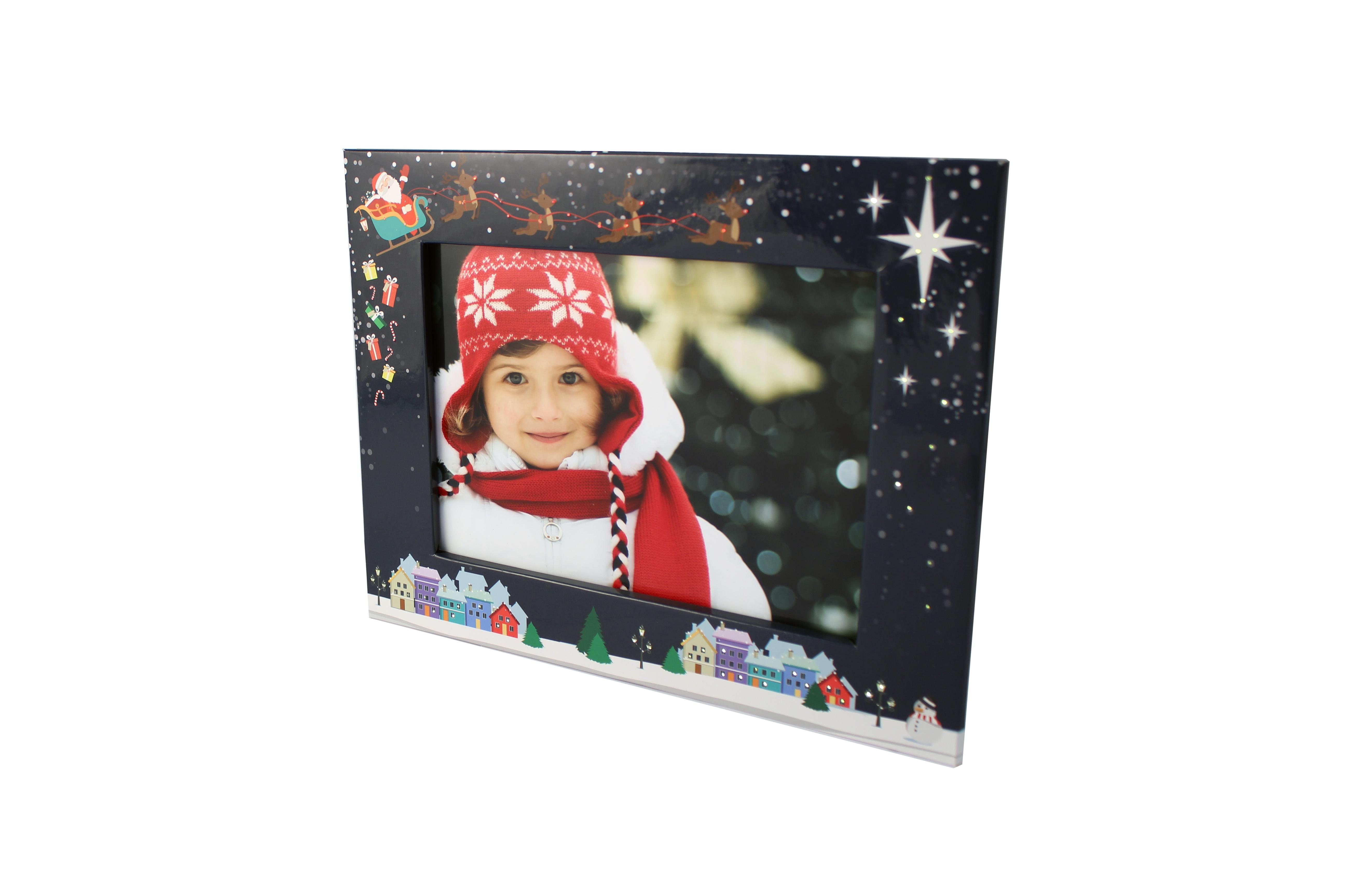 My Santa Light Up Photo Frame