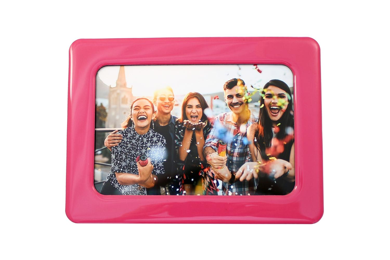 "Pink Photo Fridge Magnet 4 x 6"""