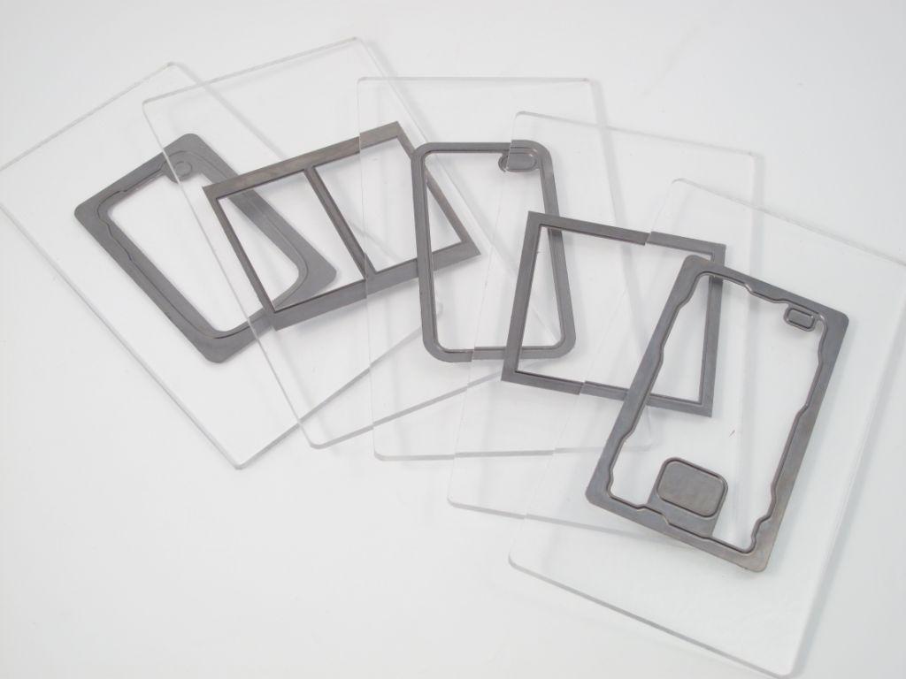Photo cutting plate