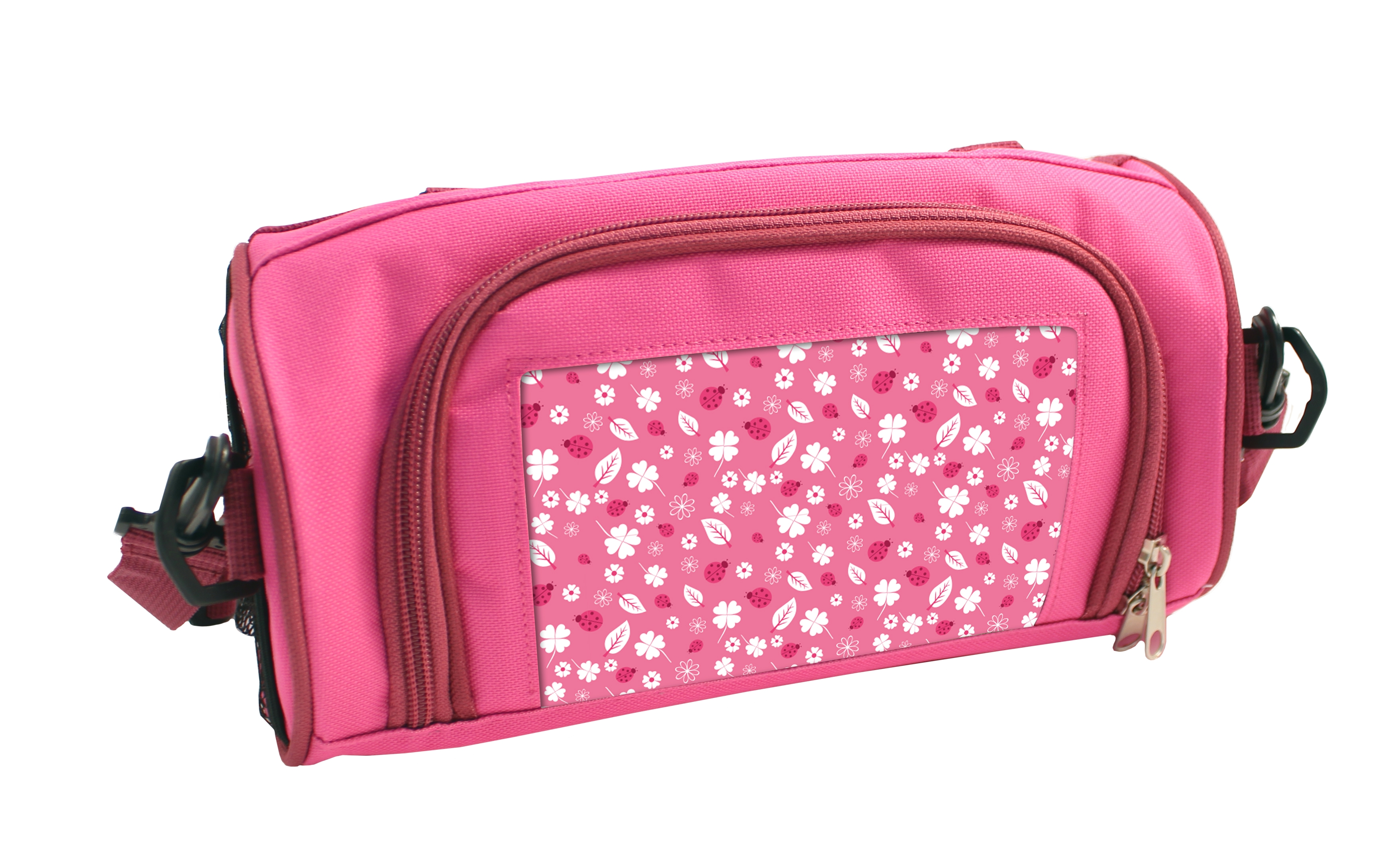 Pink Personalised Insulated Lunch Box