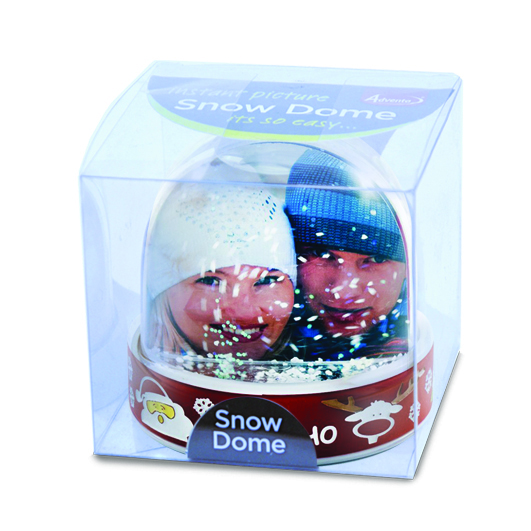 Adventa Retail Packed Snow Dome