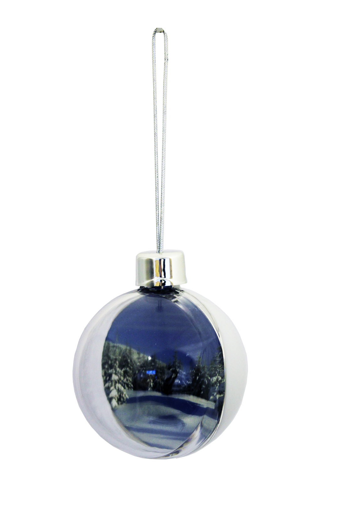 Adventa Ice White DIY Bauble